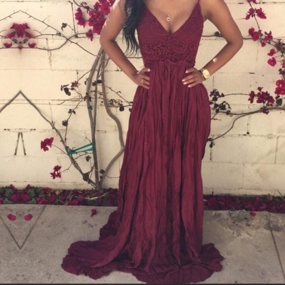 Dresses & Skirts - Pleated Maxi Dress